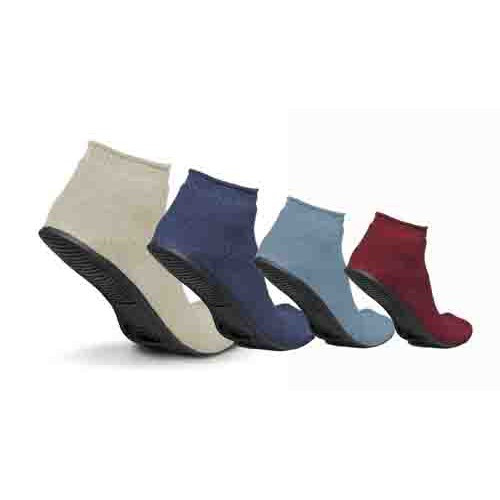 Sure-Grip Terrycloth Slippers, Latex Free