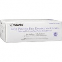 ReliaMed Latex Exam Gloves Powder Free - NonSterile