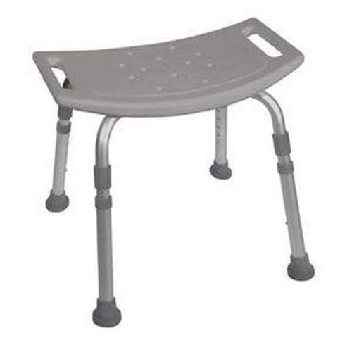 KD Aluminum Bath Bench without Back