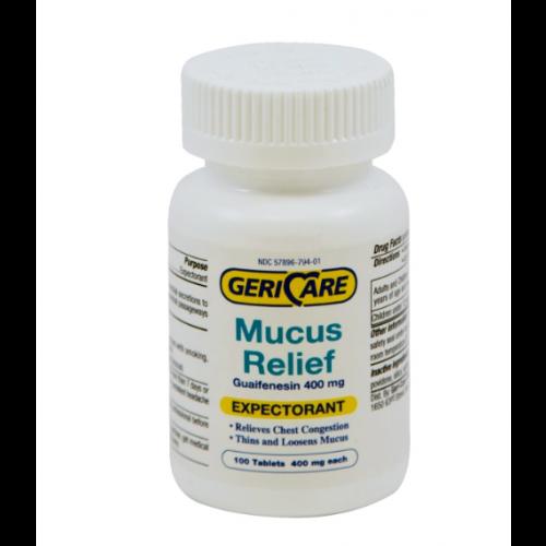 400 mg Guaifenesin Expectorant