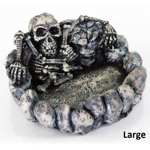 BioBubble Decorative Skeleton Dish