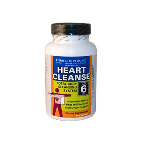 Health Plus Heart Cleanse Total Body Cleansing System Dietary Supplement