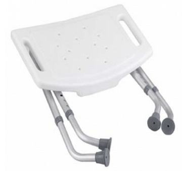 more views folding bath tub shower chair with back - Shower Chair With Back