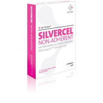 Silvercel Non-Adherent Antimicrobial Alginate Dressing w/Easy Lift Film