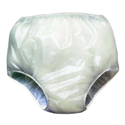 Adult pantie plastic wearing