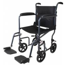 Carex Transport Wheelchair with Oversized Wheels