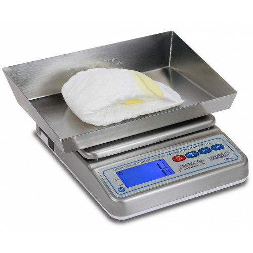 Detecto WPS12DT Wet Diaper Scale