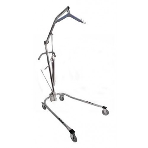Manual Hydraulic Deluxe Chrome Plated Patient Lift