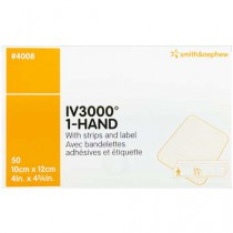 OpSite IV3000 1-Hand 4 x 4-3/4 Inch Central IV Dressing