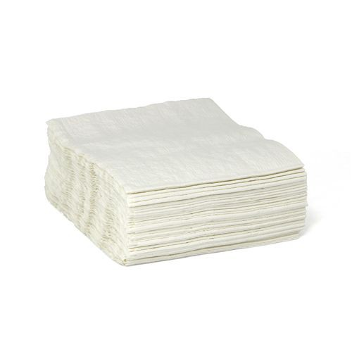 Taskbrand E25 Scrim Quarterfold Polybag White Wipers