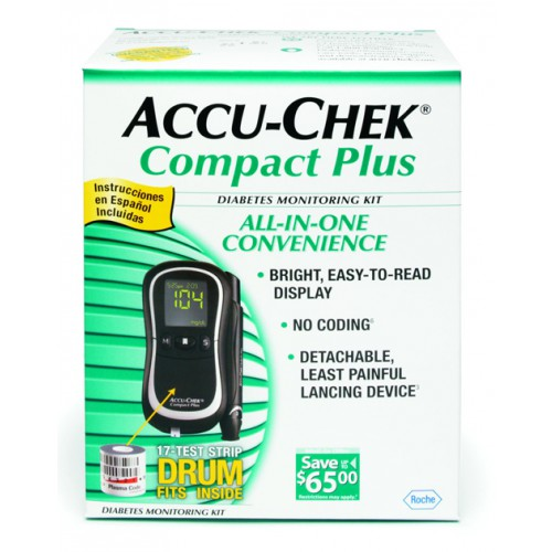 Accu-Chek Compact Plus Blood Glucose Monitoring System