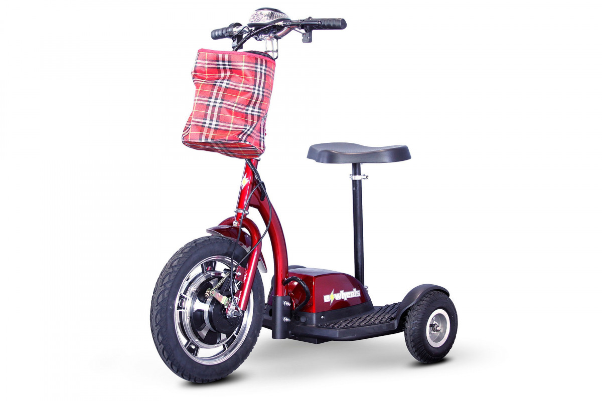 ewheels ew 18 stand n ride mobility scooter 49a