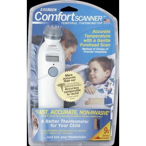 Exergen ComfortScanner Temporal Thermometer