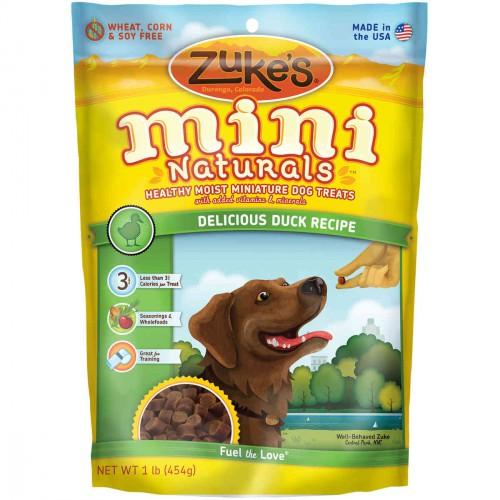 Mini Naturals Moist Miniature Treat for Dogs Delicious Duck