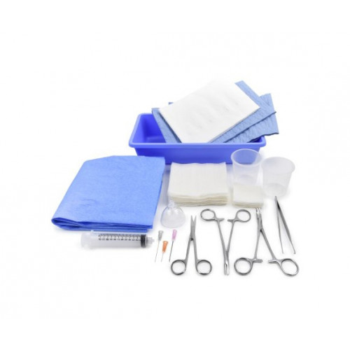 Medi-Pak Performance Plus Laceration Tray with Saf-Shield