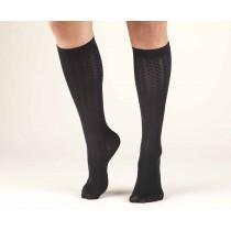 TRUFORM Women's Cable Knit Trouser Socks 10-20 mmHg
