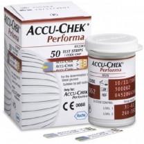 Accu-Chek Performa Blood Glucose Test Strips Box of 50 - 7299702001