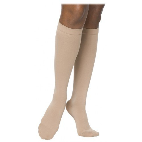 Sigvaris 860 Select Comfort Women's Knee High Compression Socks Grip Dot Top - 862C CLOSED TOE 20-30mmHg