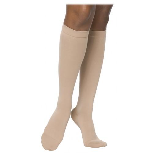 Sigvaris 860 Select Comfort Women's Knee High Compression Socks Grip Dot Top - 862C CLOSED TOE 20-30mmHg