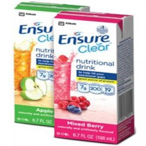 Ensure Clear Nutritional Drink - Mixed Berry or Apple Flavor