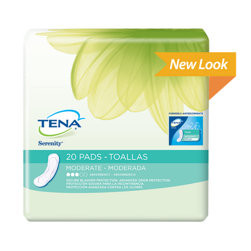 TENA Serenity Moderate Absorbency Regular Pads