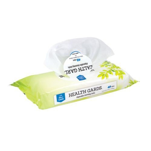 Health Gards Dry Wipes