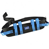 Secure Transfer Walking Gait Belt with Six Caregiver Hand Grips - 4 Inches Wide