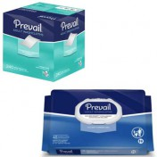 Prevail Disposable Washcloths with Aloe, Chamomile and Vitamin E - First Quality