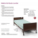 Medlite Full-Electric Low Bed with Mattress Features