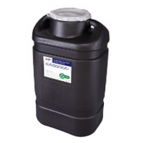 5 Gallon Black Hazardous Waste Collector One Piece 305067