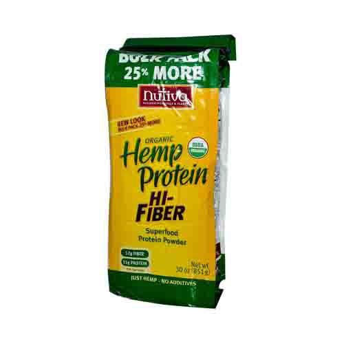 Organic Hemp Protein Powder Plus Fiber