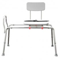 Swivel Sliding Transfer Bench - Eagle Health 77662