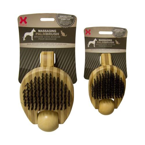Massaging Pet Palm Brush