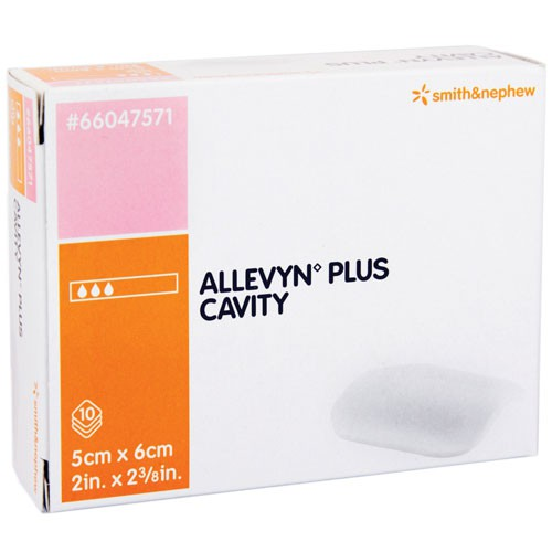 Smith and Nephew Allevyn 66047571 Plus Cavity