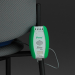Sitter Elite Fall Monitor Alarm Mounted on Chair