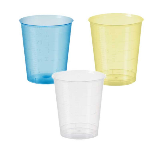 Graduated Medicine Cup 1 oz Plastic Disposable