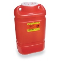 5 Gallon Red BD Sharps Container with Open Top 305491