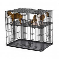 Midwest Puppy Playpen with Plastic Pan