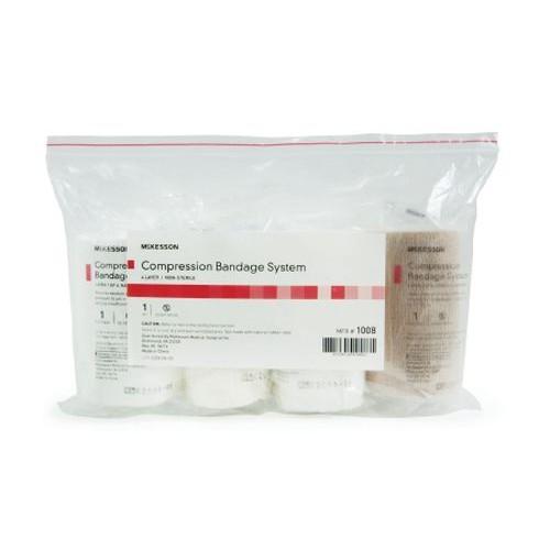 4 Layer Compression Crepe Padding Bandage System