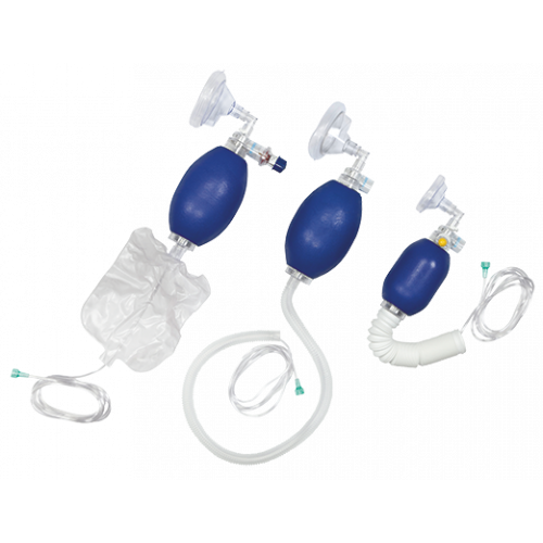 Resuscitator Bag with Nasal / Oral Mask