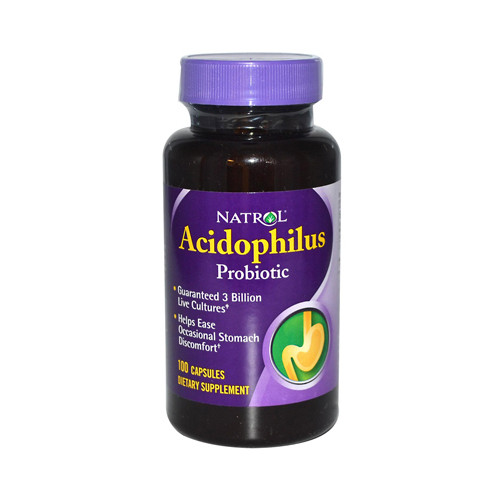 Natrol Acidophilus Probiotic 100 mg