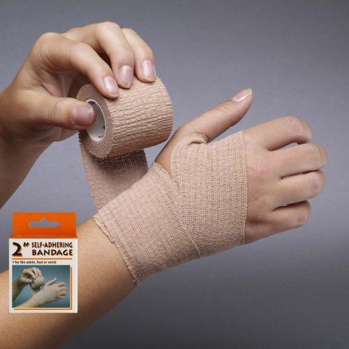 Self-Adhering Bandage