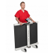 Detecto 6550 Fold Up Portable Wheelchair Scale