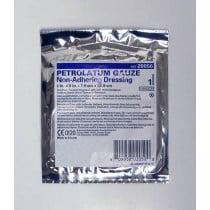 McKesson  1 x 8 inch Petrolatum Non-Adhering Gauze Dressing - 61-77030