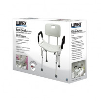 Lumex Platinum Bath Seat with Arms