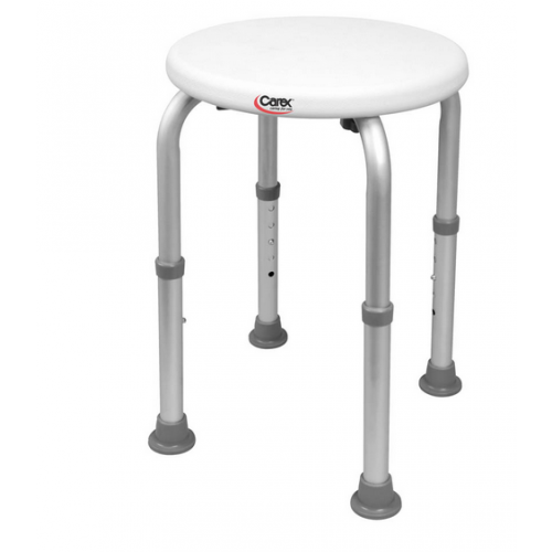 Shower Stool Round Adjustable