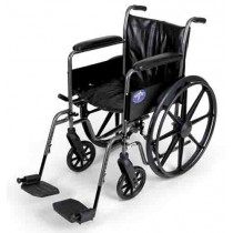 Medline Easy-to-Clean and Durable Wheelchair