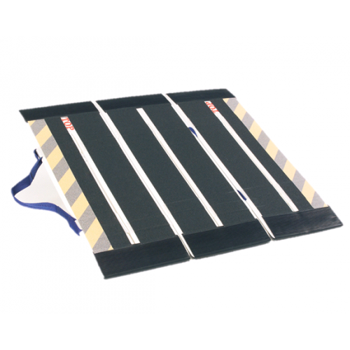 DecPac Portable Fiberglass 3-Panel Ramps