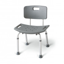 MedLine Aluminum Bath Benches with Back