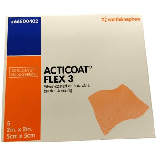 Smith and Nephew Acticoat 66800402 Flex 3